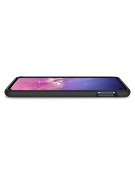 Etui Spigen Samsung Galaxy S10E Silicone Fit Czarne