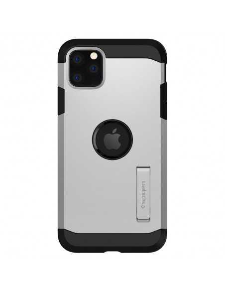 Etui iPhone 11 Pro Max Spigen Tough Armor Srebrne