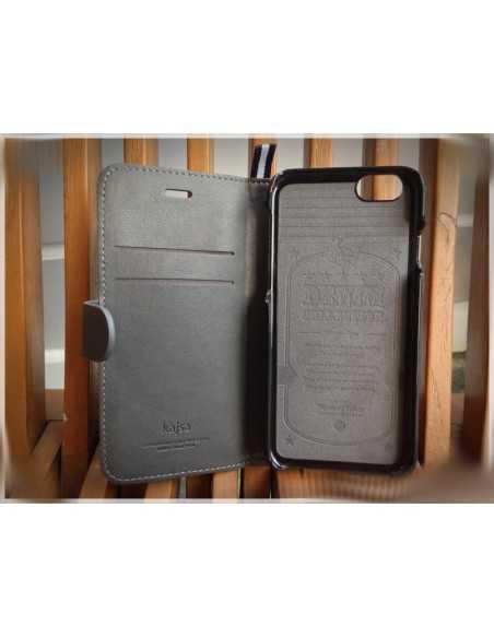 Etui iPhone 6 Plus Kolekcja Denim - Czarny