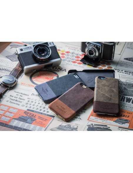 Etui iPhone 6 Plus Kolekcja Vintage - Czarny